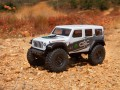 Axial #AXI00002T1 - SCX24 2019 Jeep Wrangler JLU CRC (1:24, 4WD, RTR) - w terenie