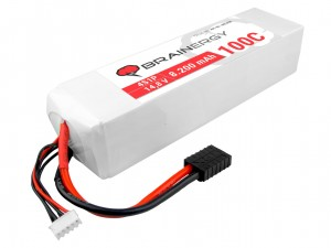 YUKI Model #801098 - Pakiet LiPo 4s 14,8v 8200mAh 100C