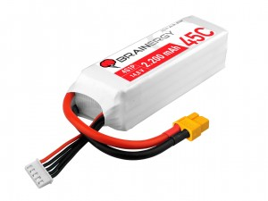YUKI Model #801047 - Pakiet LiPo 4s 14,8v 2200mAh 45C