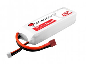 YUKI Model #801090 - Pakiet LiPo 4s 14,8v 5200mAh 45C