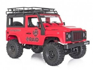 FUNTEK #FTK-RAID1-RD - Raid Adventure Vehicles, 4x4 / 1:12, Land Rover Defender
