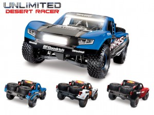 Traxxas #85086-4 - Unlimited Desert Racer Pro-Scale™ (1:7, 4WD, VXL-6s, TSM, LED System)