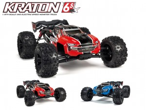Arrma #ARA106040Tx - Kraton 6s 4WD 1:8 Speed Monster Truck