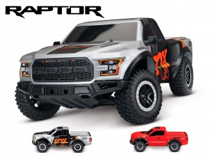 Traxxas #58094-1 - Ford F-150 Raptor (1:10, 2WD, XL-5)