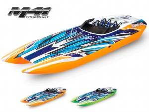 Traxxas #57046-4 - DCB M41 Widebody Catamaran