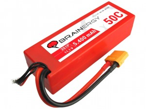 YUKI Model #801007 - Pakiet LiPo 3s 11,1v 5400mAh 50C
