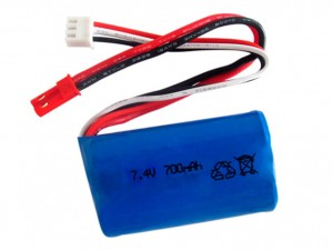 Pakiet LiIon 2s, 700mAh, 7,4v (dron Intruder Cam X30)