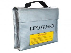 Torba na pakiety, LiPo Safe Bag, 215mm