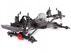 Axial #AXI90104 - SCX10 II™ Raw Builders Kit (1:10, 4WD, KIT)