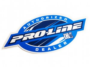 Pro-Line #9916-33 - Naklejka Pro-Line Authorized Dealer, 355mm x 160mm