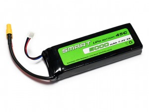 SMART #L2S5000S - Pakiet LiPo 2s 7,4v 5000mAh 45C SoftCase
