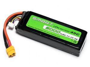 SMART #L3S5000S - Pakiet LiPo 3s 11,1v 5000mAh 45C SoftCase
