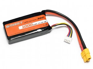SMART #L3S1000S - Pakiet LiPo 3s 11,1v 1000mAh 30C SoftCase