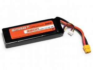 SMART #L3S3200S - Pakiet LiPo 3s 11,1v 3200mAh 30C SoftCase