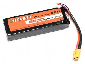 SMART #L3S2900S - Pakiet LiPo 3s 11,1v 2900mAh 30C SoftCase