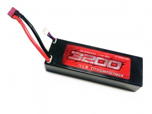 BSD Racing #BS803-026 - Pakiet LiPo 2s 7,4v 3200mAh 20C Hard Case