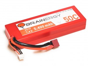 YUKI Model #801006 - Pakiet LiPo 2s 7,4v 5400mAh 50C